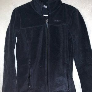 Women's Black Colombia Fleece Jacket